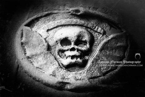 Billinge Winged Skull