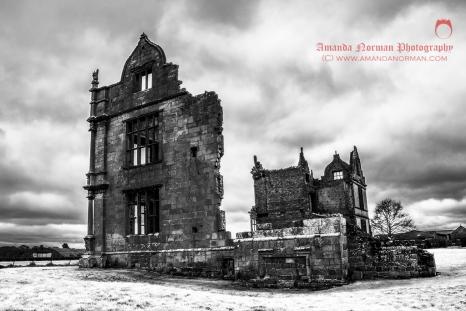 Ruins of Moreton Corbet Castle