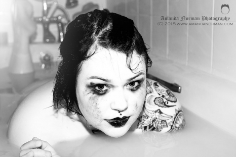 Kerry Sheree Bath Pose