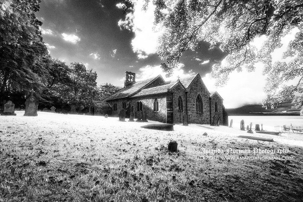 St Peter's Church in Heysham near Morecambe