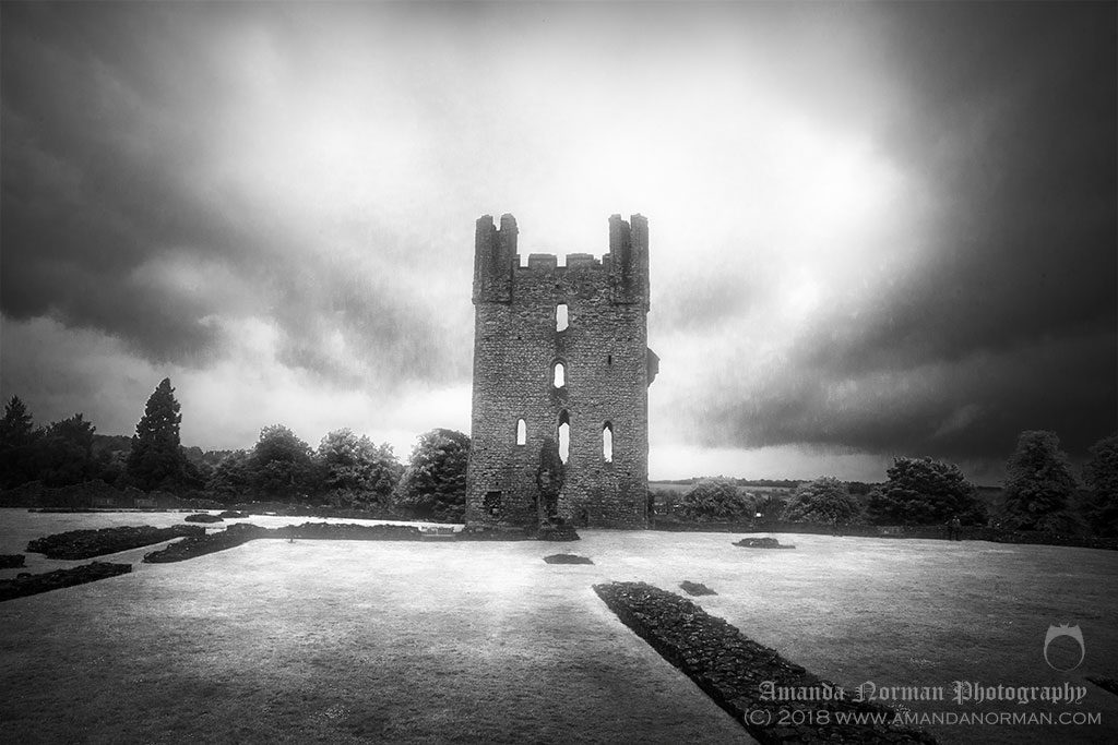 Helmsley Castle in Yorkshire