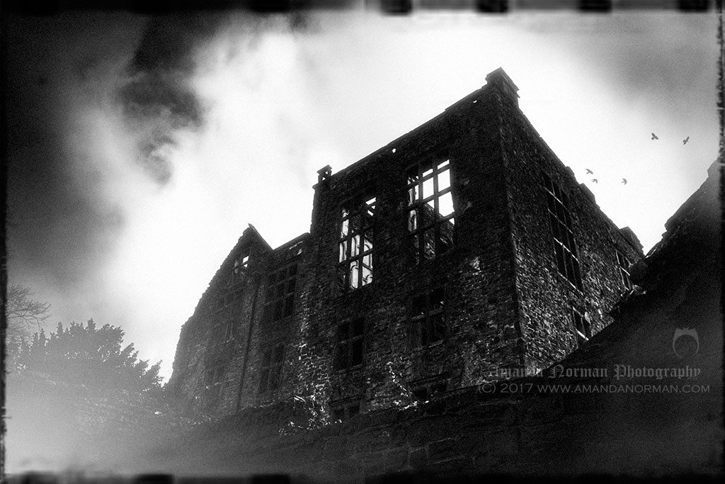 Ghostly Ruins of Hardwick Old Hall