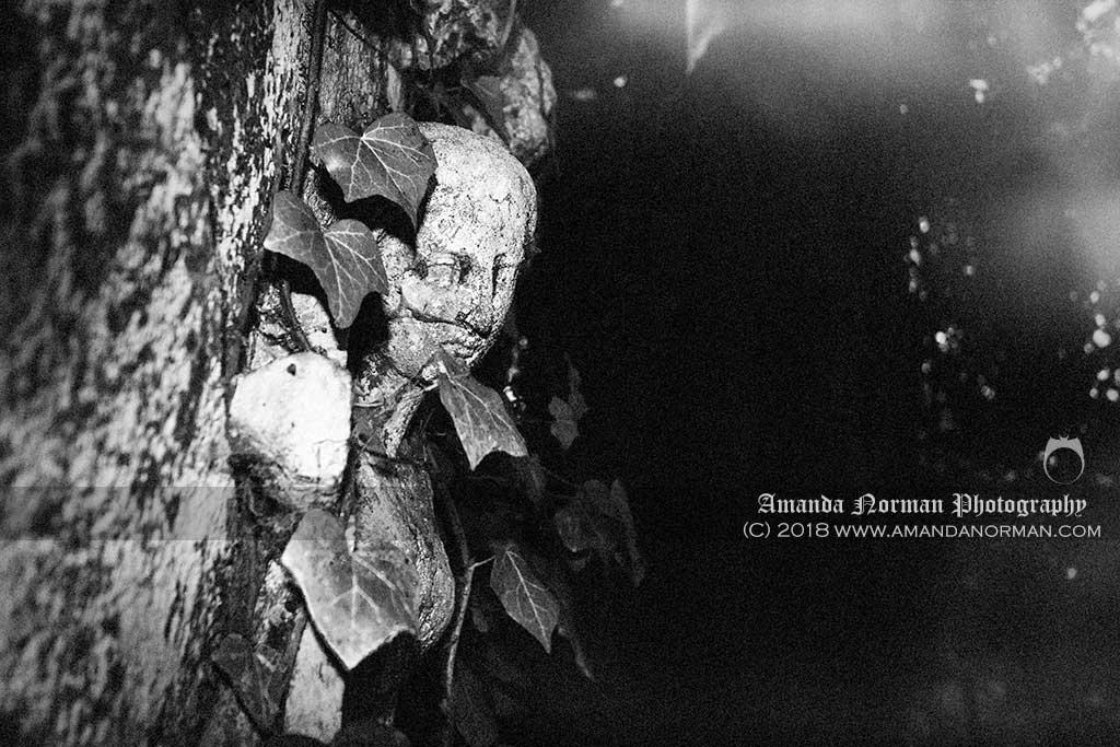Hidden figure in Kensall Green Cemetery