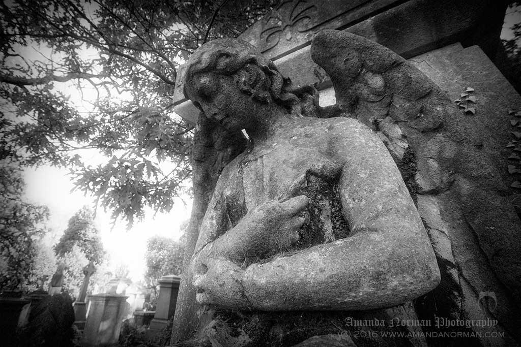 Angel in Kensall Green Cemetery