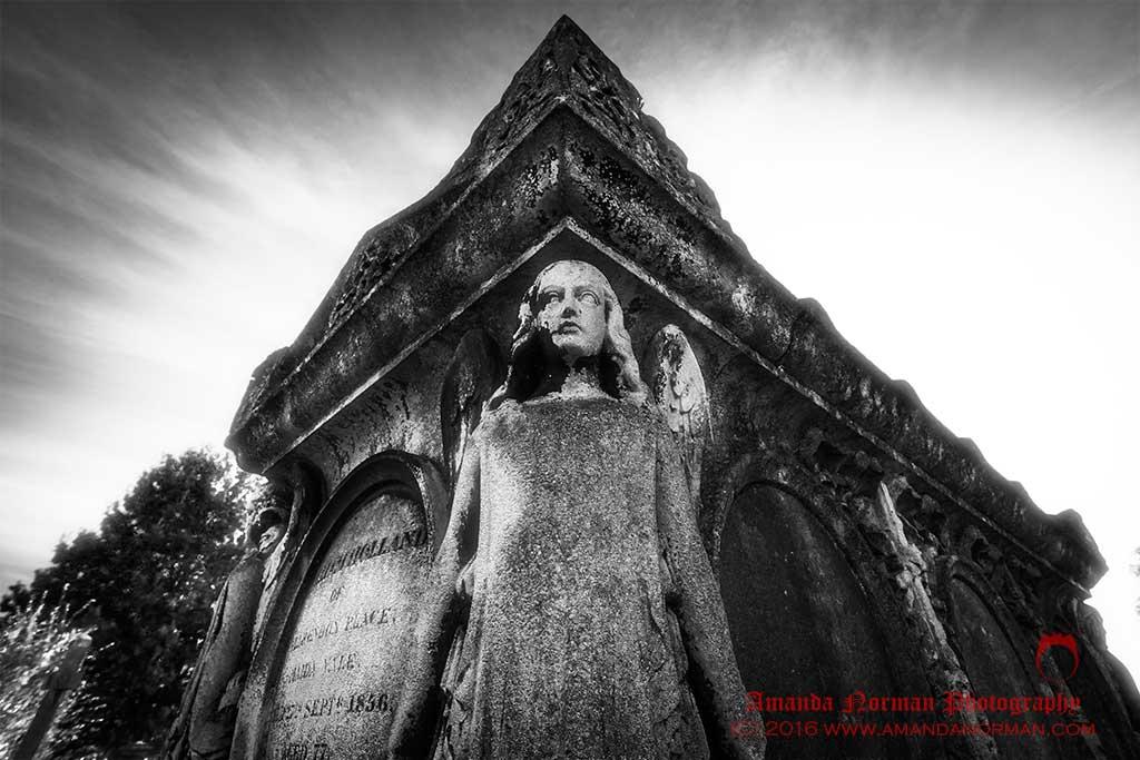 Angel on Sarcophagus