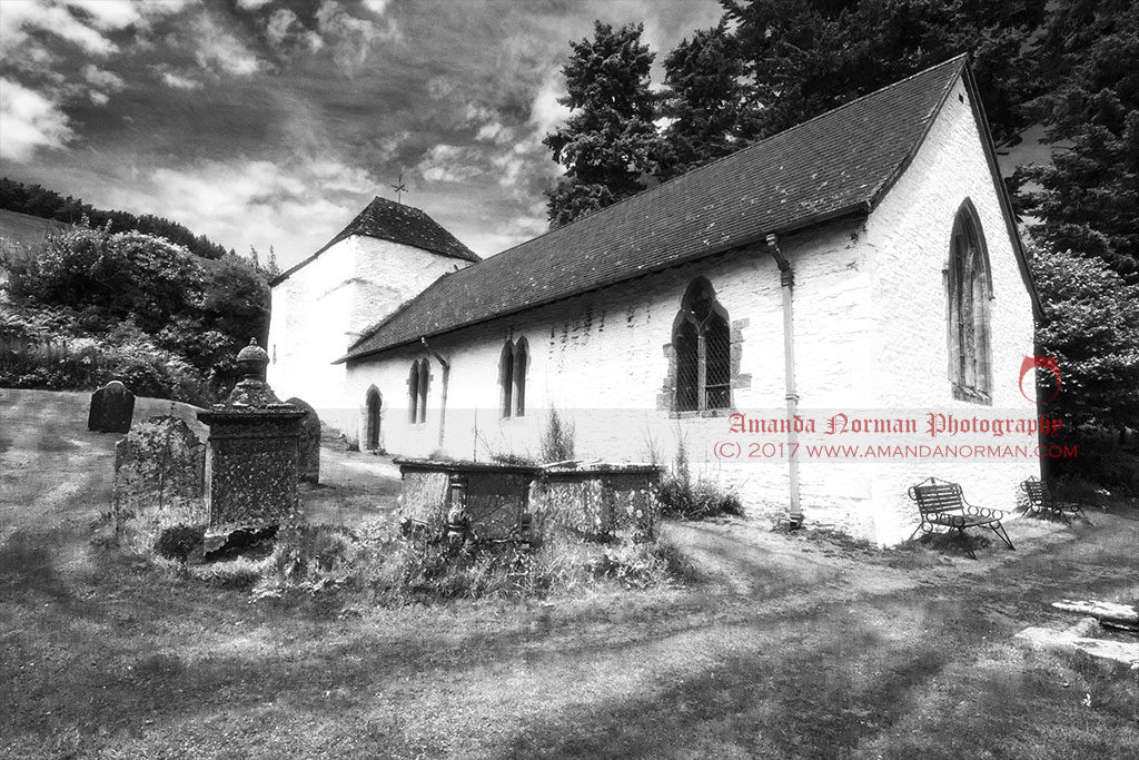 Photograph of St Mary's Church in Pilleth
