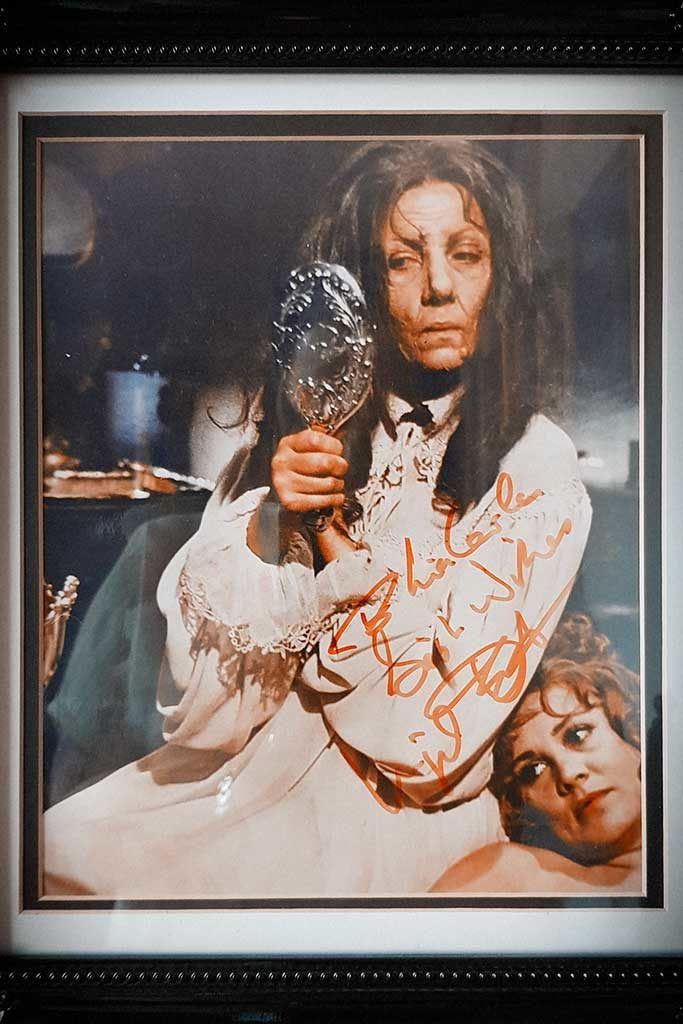 Ingrid Pitt signed photo for LiaCarla