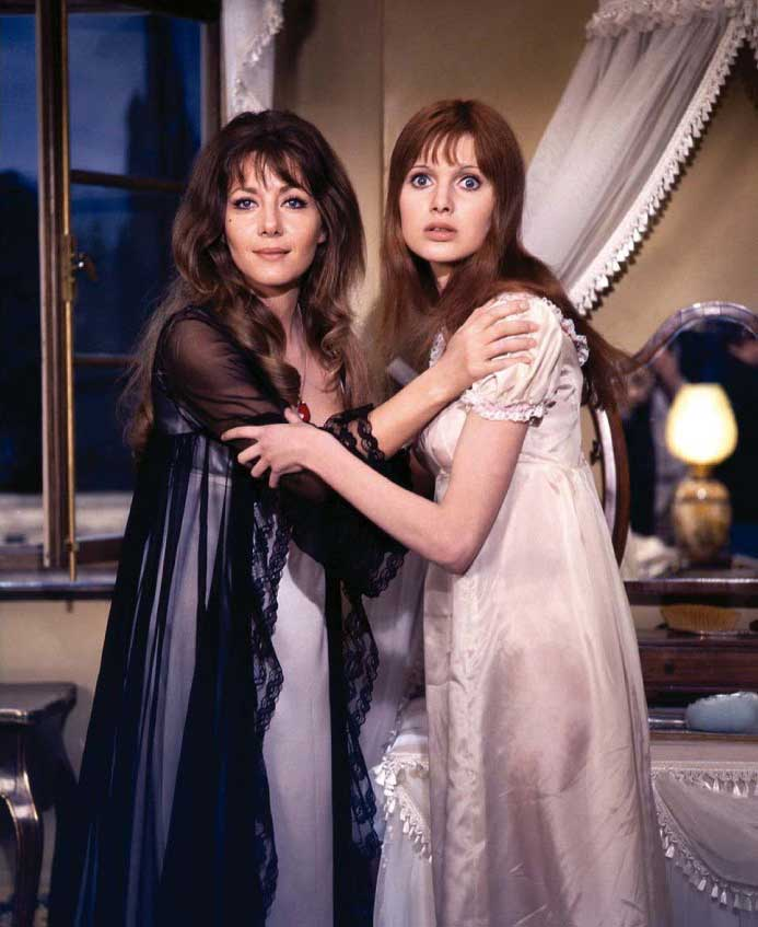 Ingrid Pitt and Madeline Smith in Vampire Lovers