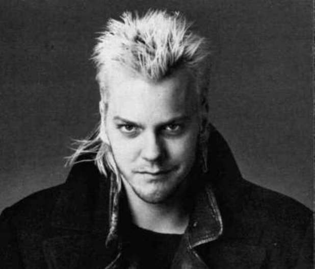 Keifer Sutherland as David in Lost Boys