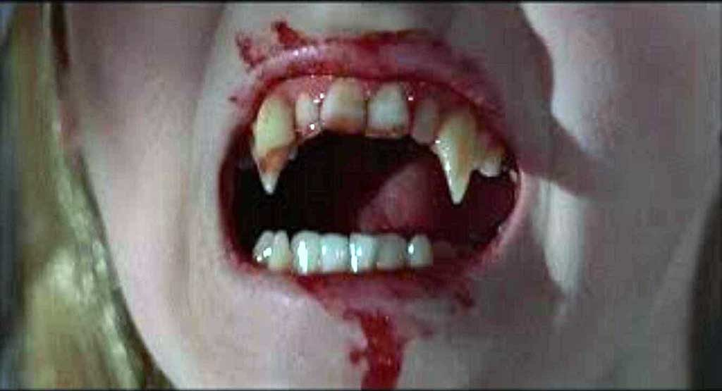 Vampire Fangs from The Vampire Lovers