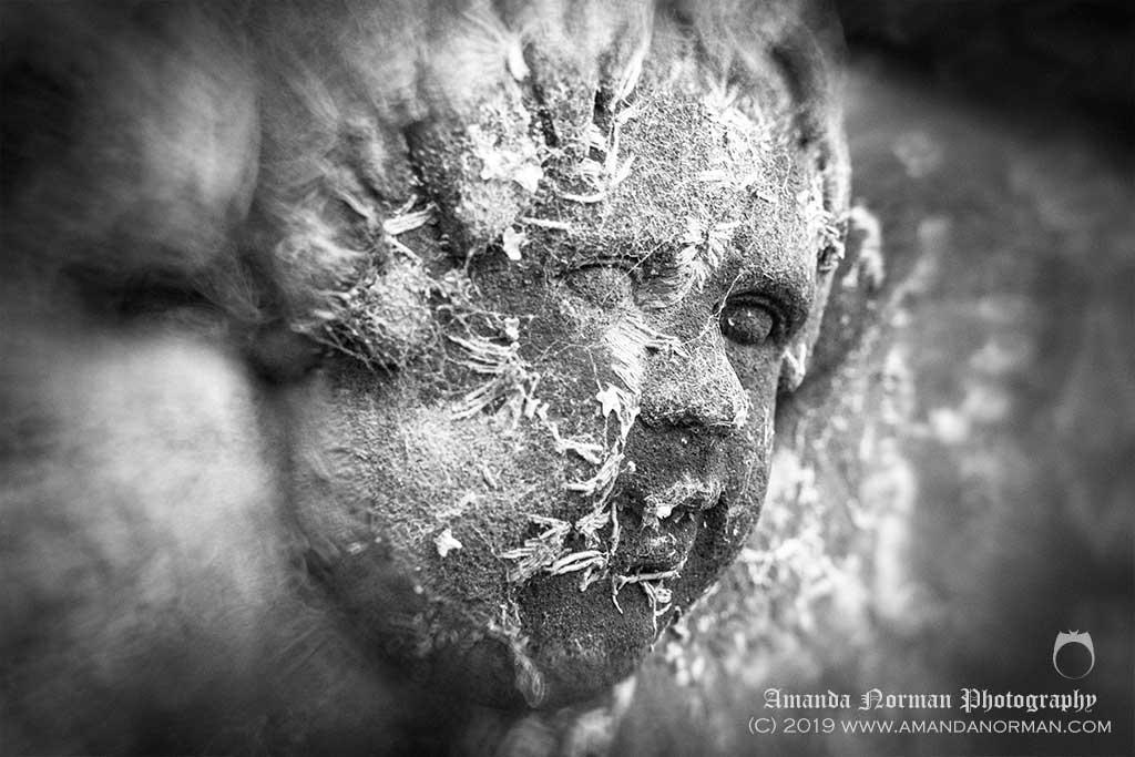 Cherub on Headstone