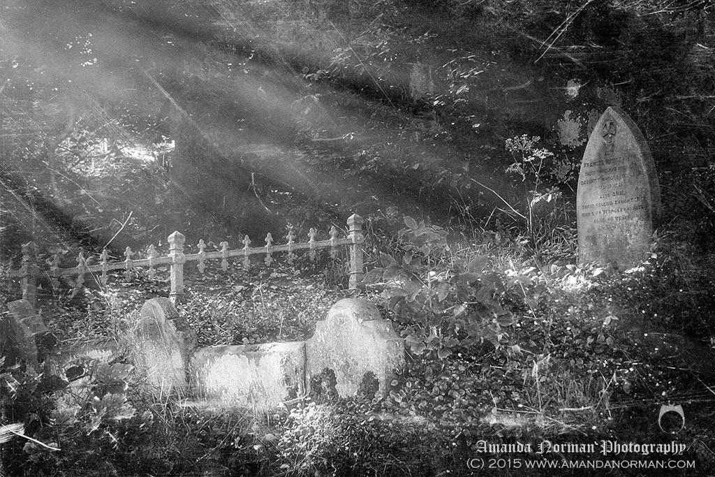 Fairy tale grave in Heysham