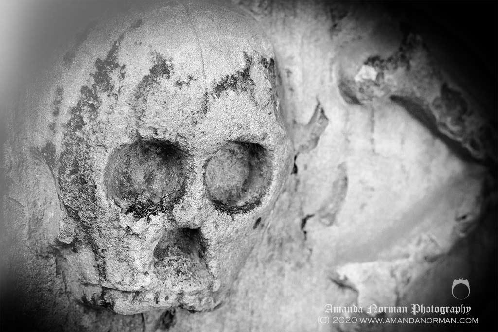 Memento Mori Skull and Crossbones